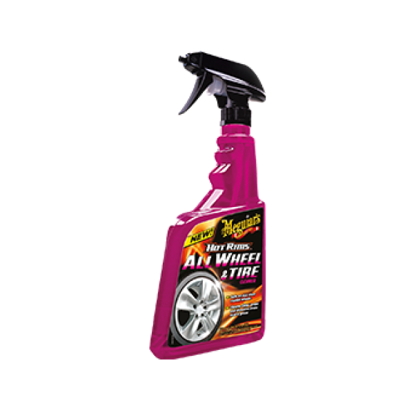 Meguiar's Hot Rims Wheel & Tyre Cleaner | Automaterialen Timmermans