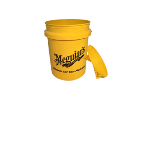 Meguiar's Yellow Bucket + Grit Guard