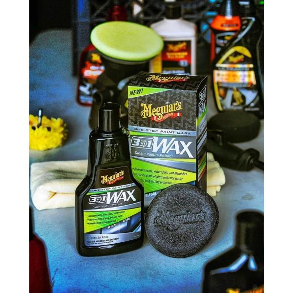 Meguiar's 3-in-1 Wax