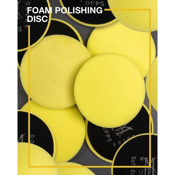 "Meguiar's 5"" soft buff foam polishing disc"